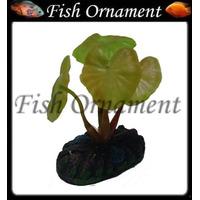 Enfeite 099215 Soma Planta Folha Larga 4cm Fish Ornament