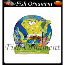 Enfeite Penn Plax Bob Esponja Bolhas Fish Ornament