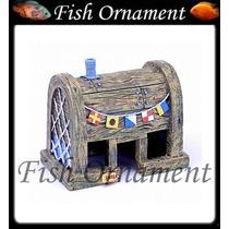 Enfeite Penn Plax Lanchonete Siri Cascudo Bob Fish Ornament
