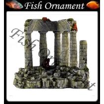 Enfeite De Resina Soma Ruína Grega 040144 Fish Ornament