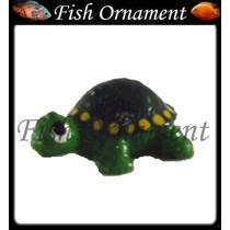 Enfeite Resina Aquario Tartaruga Mini Mm028 Fish Ornament