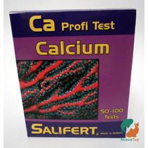 Teste Salifert De Cálcio Para Aquário Marinho Água Salgada
