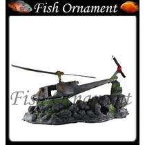 Enfeite Resina Aquario Casa Bob Esponja Mm001 Fish Ornament