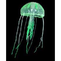 Enfeite De Silicone Soma Jelly Fish Agua Viva Verde Big