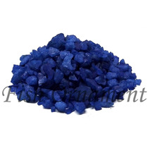 5 Kg De Cascalho Colorido Azul Escuro Fish Ornament