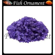 5 Kg De Cascalho Colorido Roxo Escuro Fish Ornament