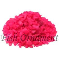 5 Kg De Cascalho Colorido Rosa Fish Ornament