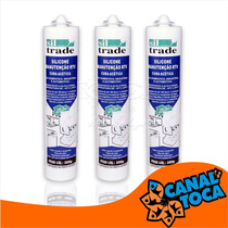 Silicone Aquario Sil Trade 300g Incolor - Toca Dos Peixes