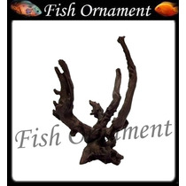 Enfeite De Resina Soma Tronco Duo 309 Fish Ornament