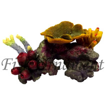 Enfeite De Resina Soma Rocha Fundo Do Mar 10 Fish Ornament