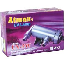 Filtro Uv 5w Atman Ultra Violeta Para Aquários E Lagos 220v.