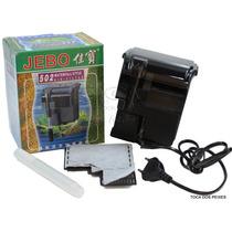 Filtro Externo Jebo 502 Com Vazão De 450lt/h Para Aquários