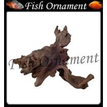 Enfeite Resina Soma Tronco Duo 110 Fish Ornament