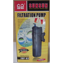 Filtro Uv Sunsun 5 Watts Com Bomba 500 L/h 110 Volts