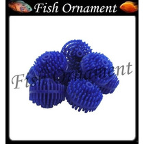 Kit 50 Peças Bio Ball Filtro Biologico Fish Ornament