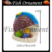 Enfeite Penn Plax Casa Patrick Bob Esponja Fish Ornament