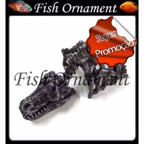 Enfeite Resina Soma Action Dinossauro Grande Fish Ornament