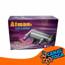 Filtro Uv Atman 05w - Para Lagos De Até 3000 Litros