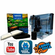 Filtro Externo Para Aquários Maxxi Hf800 - 600l/h - Hf600