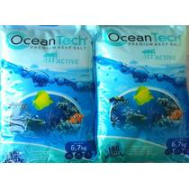 Sal Marinho Oceantech 6,7kg Faz 190litros + Sachet Biológico