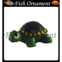Enfeite Resina Aquario Tartaruga Mini Mm028 Fish Ornament