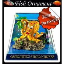 Enfeite De Resina Soma Polvo Com Bolhas Fish Ornament