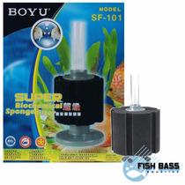 Filtro Int Boyu Sf-101 De Espuma Aquario