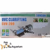 Filtro Externo Uv-c 9w Sunsun Cuv-209 110 Volts Sump, Lagos