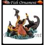 Soma 088116 Enfeite Resina Polvo No Barco Fish Ornament