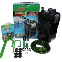 Filtro Externo Canister Jebo 838 Com Vazão De 1200 L/h