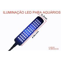 Novidade Iluminação,lâmpada Luminária Led Para Aquários.
