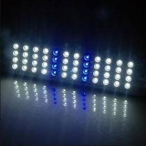 Luminária Aquário 48 Led, Super Moderno E Econômico + Brinde