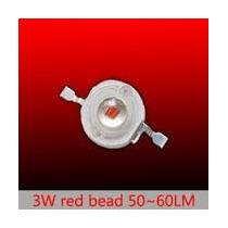 Super Led 3w Vermelho 620-625nm Aquario Corais E Plantados