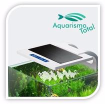 Luminaria De Led Sunsun Ad-200 Com Termometro Para Aquário