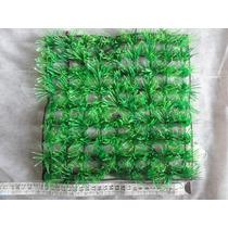 Placa De Plantas Artificial Em Plástico P/ Decoração Aquário