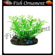 Enfeite Soma Planta Plástica Hygrophila 4cm Fish Ornament