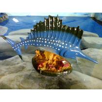 Enfeite Peixe Espada - Resina - Aquário