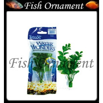 Planta Plastica Tetra Moneywort 15cm Fish Ornament