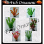 Kit 6 Plantas Soma 20cm 071002 Fish Ornament