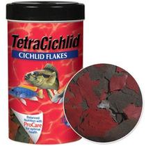 Ração Para Peixes Tetra Cichlid Flakes 160 Gramas