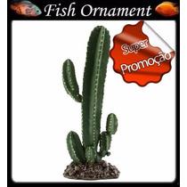Soma 055207 Enfeite Resina Planta Cactus 107