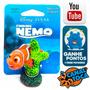 Enfeite De Resina Para Aquário Mini Nemo No Coral Nmr44