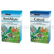 Kit Alcon Labcon Anti Algas 15ml + Cristal 15ml
