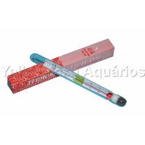 Termômetro De Vidro Flutuante Para Aquários - 12cm