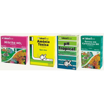 Labcon Kit Teste Para Aquário Doce Amonia Nitrito Ph Kh