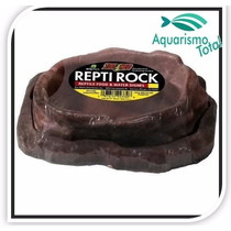 Zoomed Repti Rock Food And Water Dish Wfc-30 Terrário Réptil