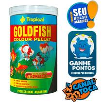 Ração P/ Peixe Goldfish Pellet 250ml 90g Tropical