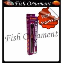 Termostato Com Aquecedor Atman Ht 100w 220v Fish Ornament