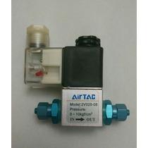 Válvula Solenóide 220v Co2 P/aquários - Adaptadores Inclusos