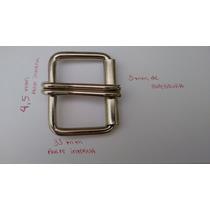 Kit Com 15 Fivelas De Rolete Prata